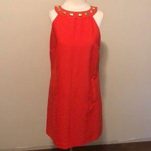 Orange Michael  Kors dress